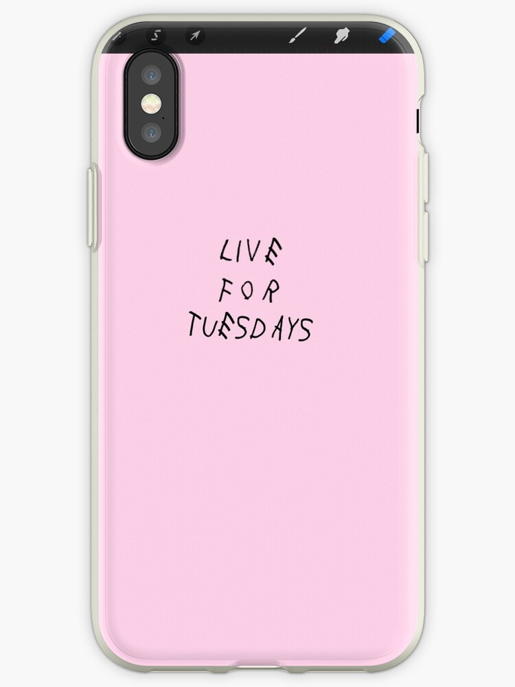 Live For Tuesdays my woes phone case by ethanscudi
