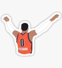 Russell Westbrook Embrace The Crowd Sticker