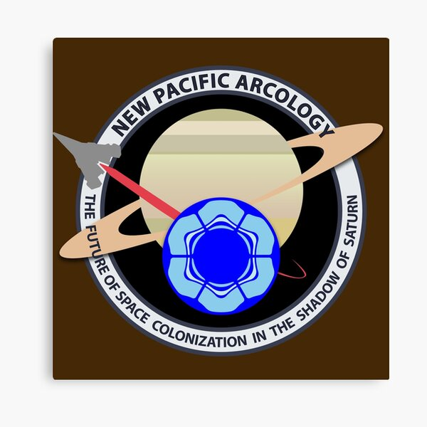 New Pacific Arcology Canvas Print