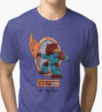 Battle beasts 16 sly fox Tri-blend T-Shirt