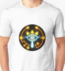 Zelda eye symbol sticker blue and orange T-Shirt