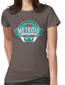 Metroid Cartography and Bounty Hunting Womens Fitted T-Shirt