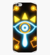 Zelda eye symbol sticker blue and orange iPhone Case