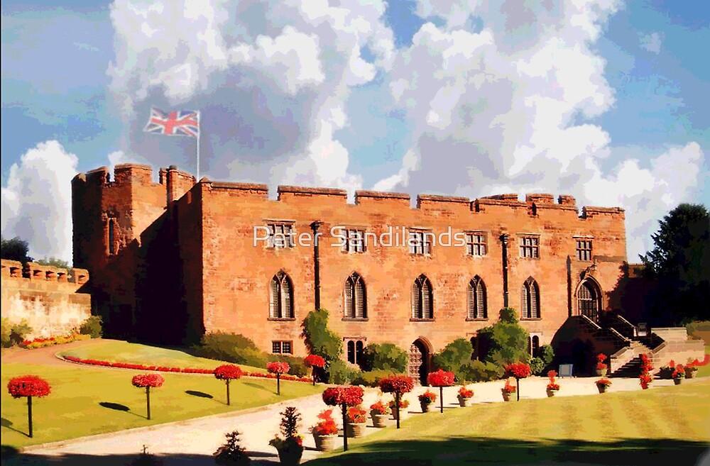 Shrewsbury Castle and Garden, Shropshire by Peter Sandilands