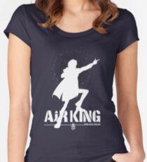 Air King T-Shirt / Phone Case / Mug / Laptop skin Women's Fitted Scoop T-Shirt