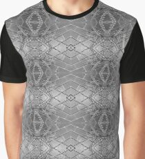Black and White Geometry Graphic T-Shirt