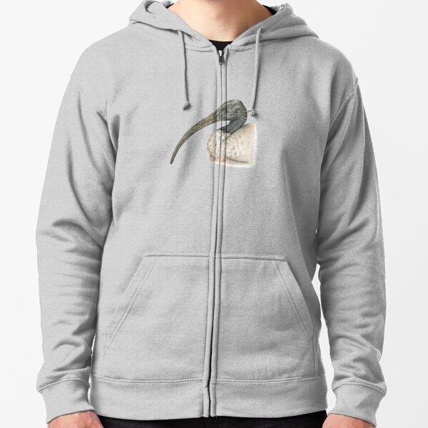 Australian White Ibis Zipped Hoodie