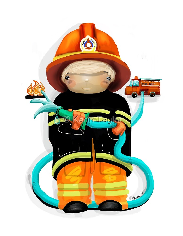 The Little Firefighter by Karin Taylor
