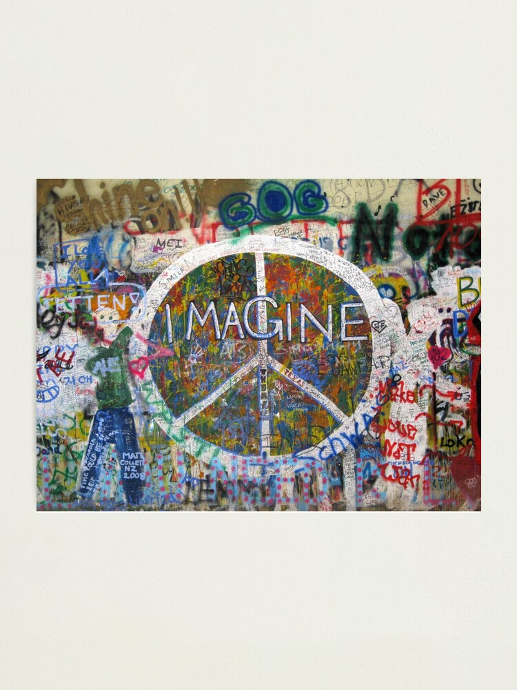 Alternate view of Imagine Photographic Print