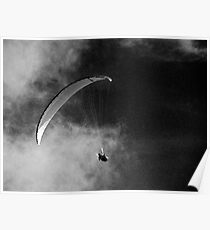 Gliding to the darkness Poster
