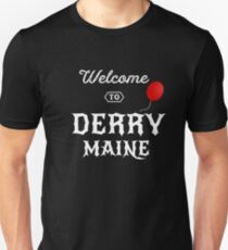 Welcome to Derry, Maine - Red Balloon T Shirt T-Shirt