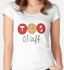 TGS Staff Logo from 30 Rock Women's Fitted Scoop T-Shirt