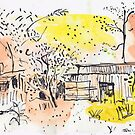The Old Shed Out the Back by John Douglas