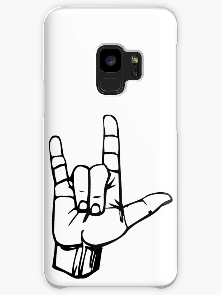 Hand I Love You Ily Sign Language Symbol Gesture Cases Skins For