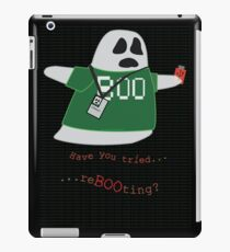 Stanley the Computer Programming Ghost iPad Case/Skin
