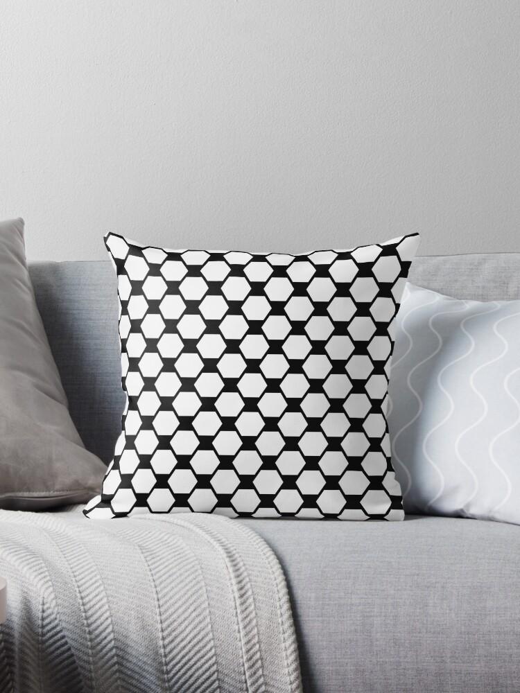 Black and white geometric 4  by fuzzyfox