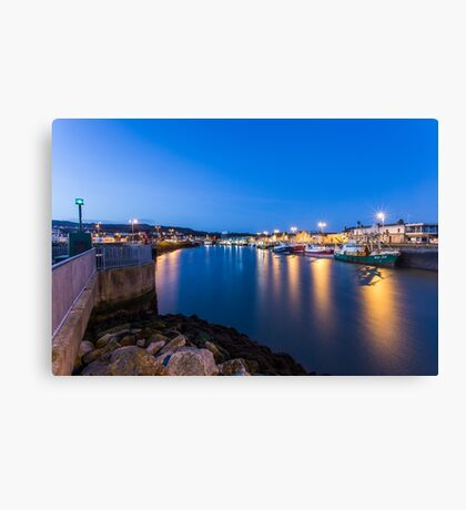Howth Harbour, Ireland Canvas Print