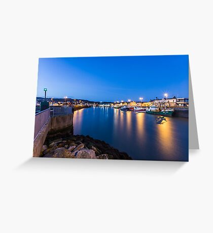 Howth Harbour, Ireland Greeting Card