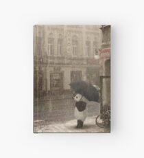 It's raining outside Hardcover Journal