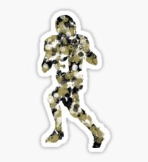 Splatter Brees Sticker