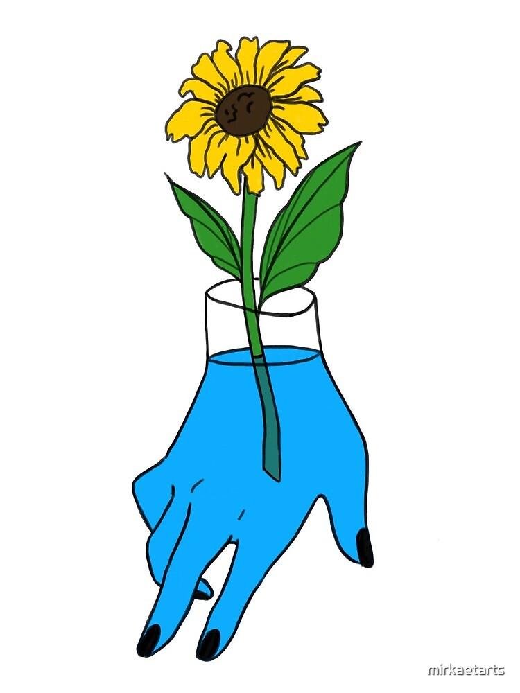 Hand Vase by mirkaetarts