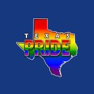State PRIDE - Texas by technoqueer