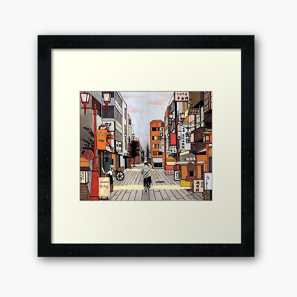 Early Morning Ride Framed Art Print
