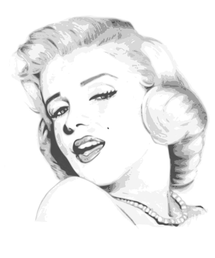 Marilyn Monroe by Alexandre Bigunas