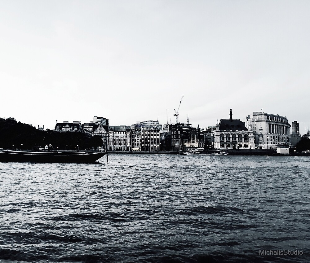 London on the River by MichalisStudio
