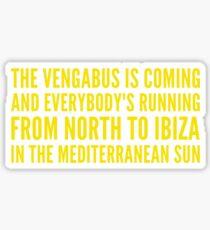 North To Ibiza Sticker
