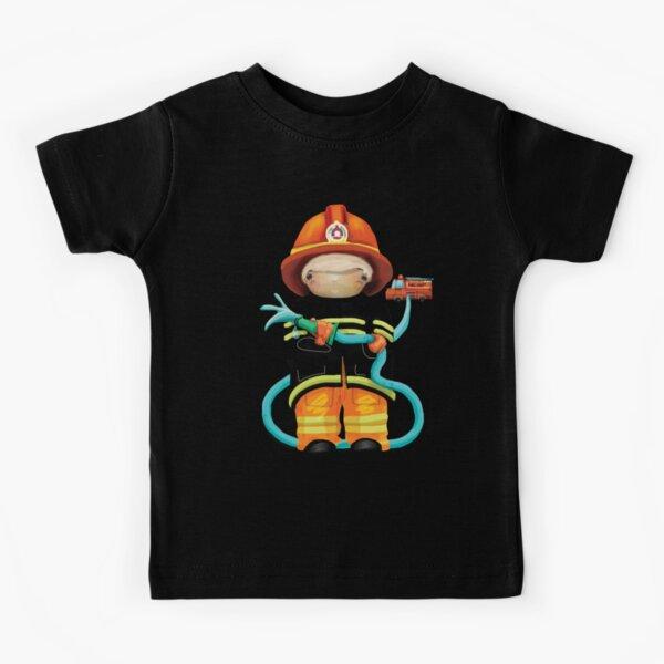 The Little Firefighter Kids T-Shirt