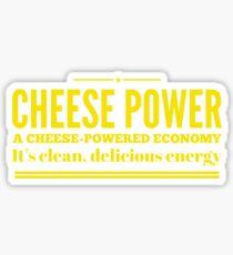 Cheese Power Sticker