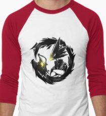 Dark Shadow - Mein Held Academia! Baseballshirt mit 3/4-Arm