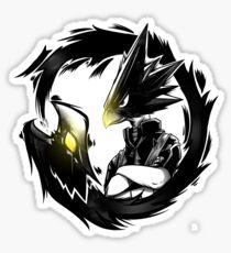 Pegatina Dark Shadow - ¡Mi Hero Academia!