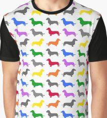Dachshund Pride Graphic T-Shirt