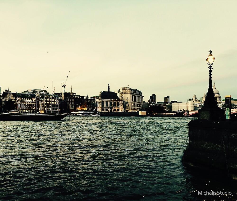Golden London by MichalisStudio