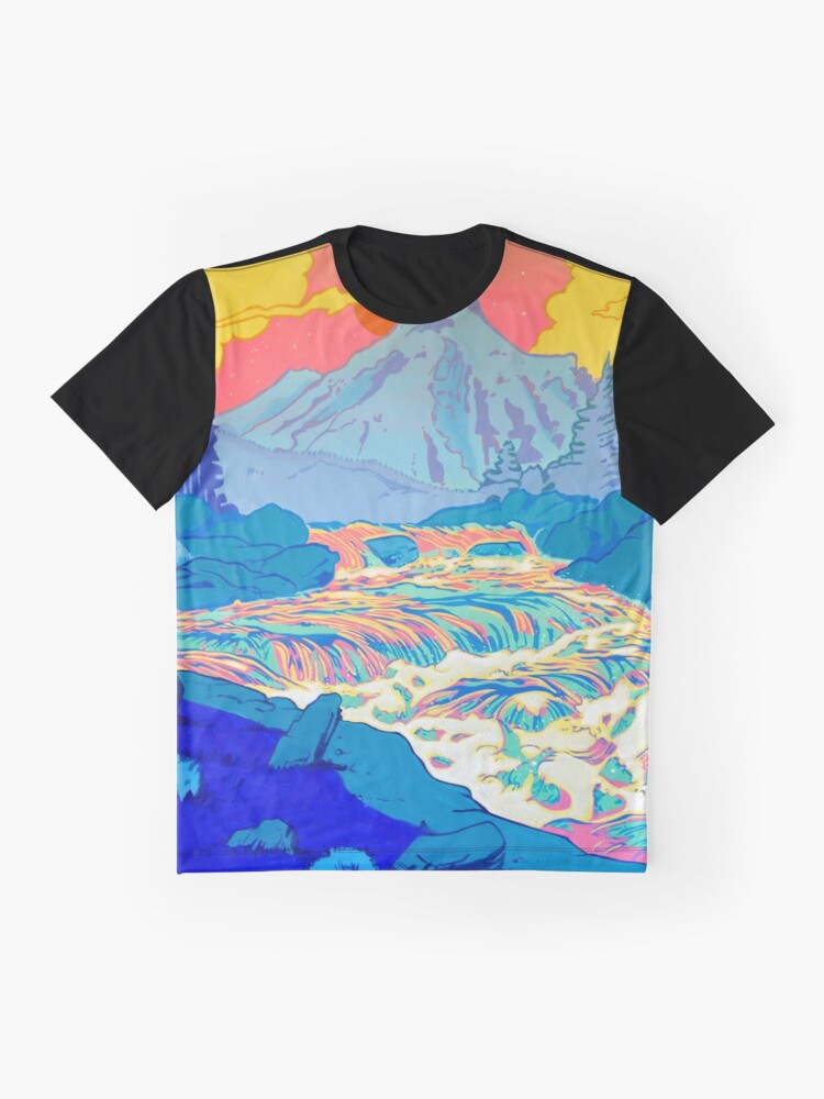 Alternate view of River Graphic T-Shirt