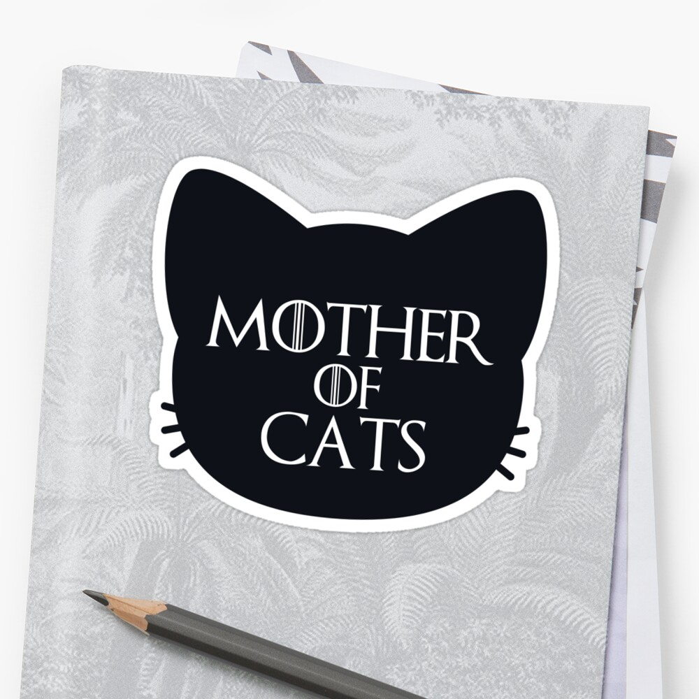 Mother of Cats Bold by annmariestowe