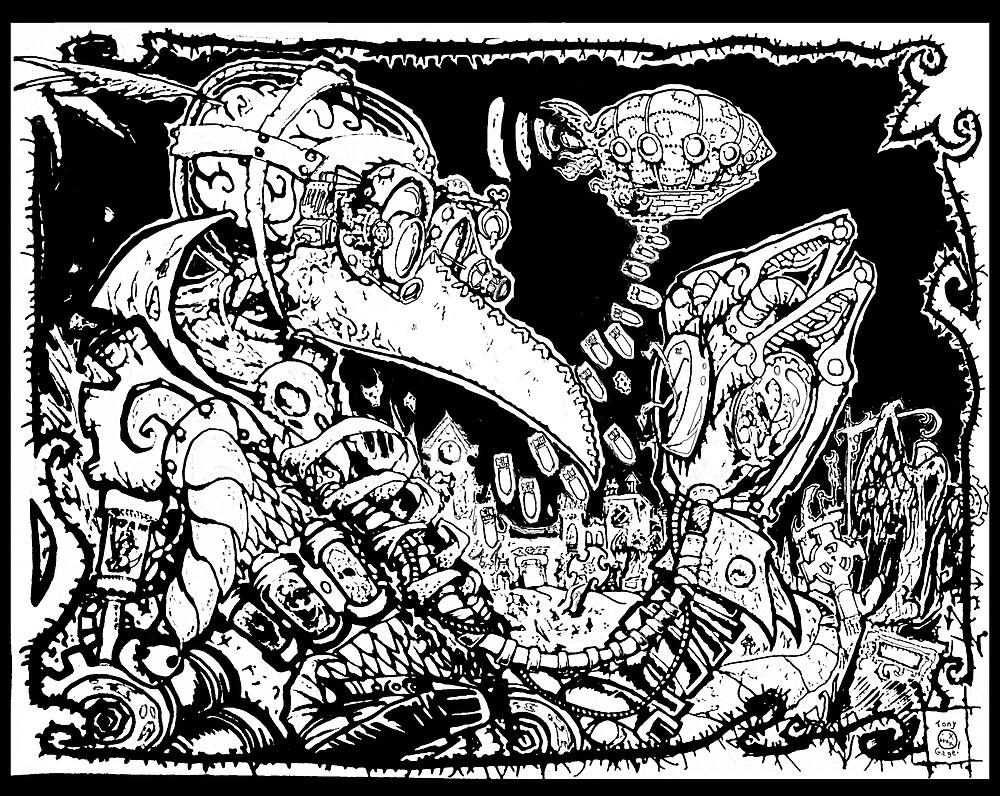 Plague Time by Necrofessor