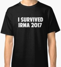 I Survived Irma 2017 Men's Women's T-Shirt Classic T-Shirt