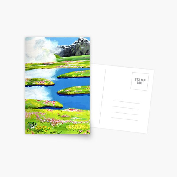 Sophies Secret Garden 2 Postcard