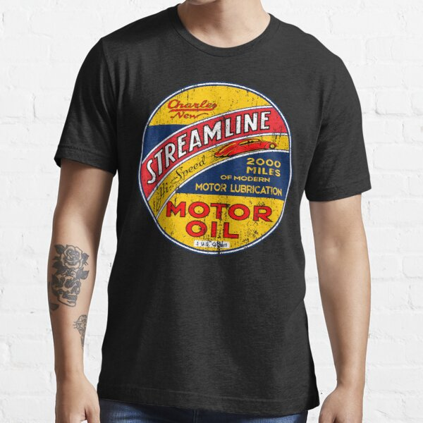 Streamline Motor Lubrication Essential T-Shirt