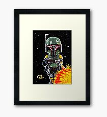 boba fett first 21 Framed Print