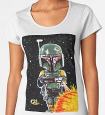boba fett first 21 Women's Premium T-Shirt