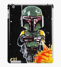 boba fett first 21 iPad Case/Skin