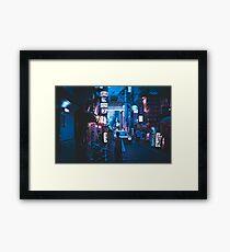 Osaka Street Framed Print