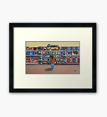Boy in Heaven Framed Print