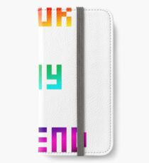 Your Gay Friend - Pixel Rainbow iPhone Wallet/Case/Skin