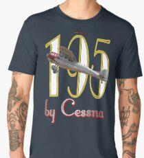 by Cessna - Cessna 195 VH-AAL  Men's Premium T-Shirt