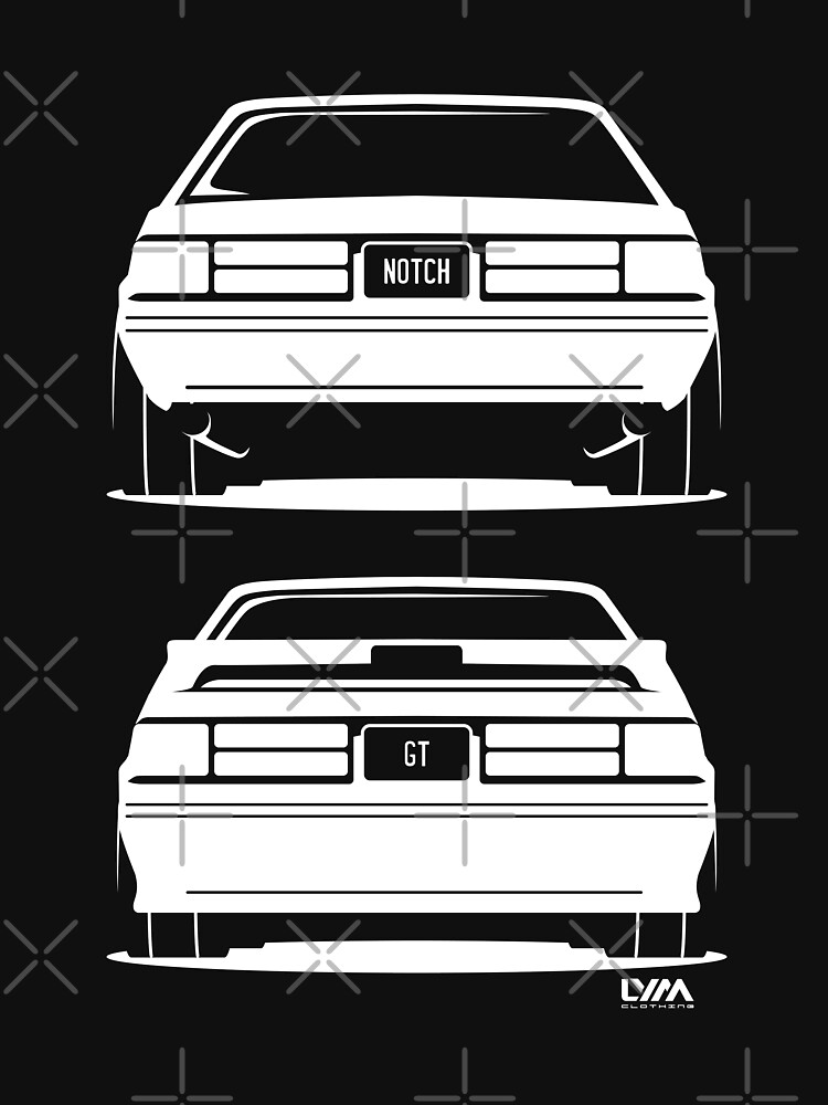 Ford Mustang Fox Body Rear by leaveyourmark